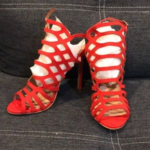 Red Heels size 5/US